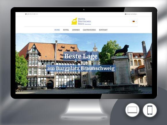 Referenzen projekte der typusmedia werbeagentur aus for Design hotel braunschweig